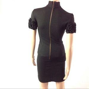 Dolce & Gabbana Mock Ruffle Sleeve Dress Size 2